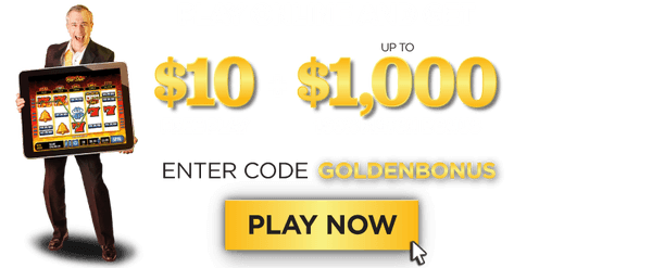 Golden Nugget Online Casino Bonus- GOLDENBONUS