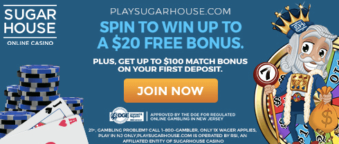 Sugarhouse Promo Code MOHEGAN1000